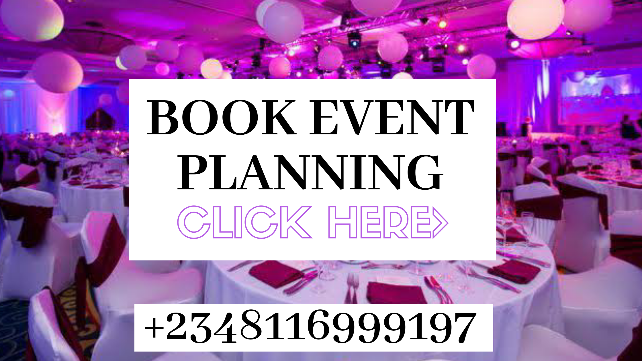 Are You Planning An Event? We Are Here To Help You. Talk To A Planner