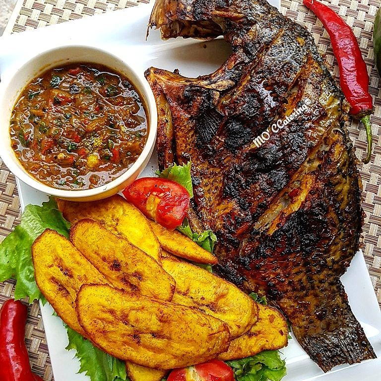 Credit: Grilled Tilapia Fish @MoC Catering