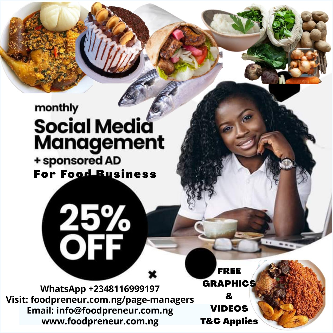 Social Media Page Management For F&B Business